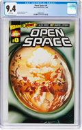 Modern Age (1980-Present):Superhero, Open Space #0 (Marvel, 1999) CGC NM 9.4 White pages....