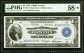 Fr. 710 $1 1918 Federal Reserve Bank Note PMG Choice About Unc 58 EPQ*