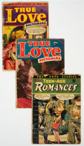 Golden Age (1938-1955):Romance, Golden Age Romance Group of 4 (Various Publishers, 1950s)Condition: Average GD-.... (Total: 4 Comic Books)