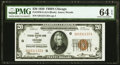 Fr. 1870-G $20 1929 Federal Reserve Bank Note. PMG Choice Uncirculated 64 EPQ