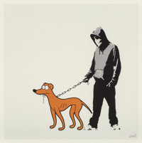Jboy (British, 20th century) Very Little Helper, 2010 Digital print in colors on paper 21-5/8 x 21-5/8 inches (54.9 x