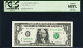 Error Notes:Mismatched Serial Numbers, Mismatched Serial Numbers Fr. 1930-B $1 2003A Federal Reserve Note. PCGS Gem New 66PPQ.. ...
