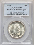 1948 SET Booker T. Washington PDS Set MS66 PCGS. PCGS Population: (0/0). NGC Census: (0/180). CDN: $235 Whsle. Bid for p...