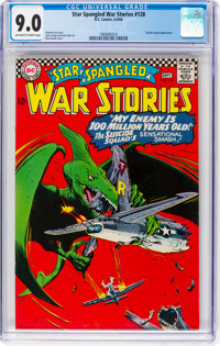 Star Spangled War Stories #128 (DC, 1966) CGC VF/NM 9.0 Off-white to white pages