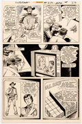 Original Comic Art:Panel Pages, Curt Swan and Murphy Anderson Superman #250 Story Page 21Original Art (DC Comics, 1972)....