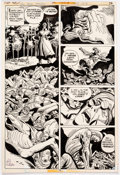 Original Comic Art:Panel Pages, Ric Estrada DC Special Series #13- Sgt. Rock SpectacularPage 76 Original Art (DC Comics, 1978)....