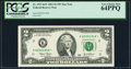 Small Size:Federal Reserve Notes, Fr. 1937-K* $2 2003 Federal Reserve Star Note. PCGS Very Choice New 64PPQ.. ...