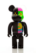 Collectible:Contemporary, KAWS X BE@RBRICK. Dissected Companion 400% and 100% (two works), 2010. Painted cast vinyl. 10-3/4 x 5 x 3-1/2 inches (27... (Total: 2 Items)