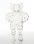 Collectible:Contemporary, KAWS (American, b. 1974). Chum (Clear), 2002. Cast resin. 12-5/8 x 8-1/4 x 4-1/4 inches (32.1 x 21.0 x 10.8 cm). Ed. 722...