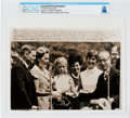 "Explorers:Space Exploration, AP Original Wirephotos: ""U Thant Presents Gifts"" August 13, 1969, Directly From The Armstrong Family Collection™, CAG Cert..."