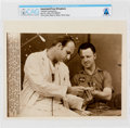 """Explorers:Space Exploration, AP Original Wirephotos: """"Isolation Examination"""" July 26, 1969, Directly From The Armstrong Family Collection™, CAG Certifi..."""