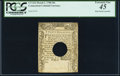 Colonial Notes:Connecticut, Connecticut March 1, 1780 20s PCGS Extremely Fine 45.. ...