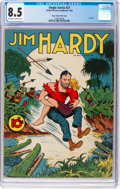 Golden Age (1938-1955):Adventure, Single Series #27 Jim Hardy - Mile High Pedigree (United FeatureSyndicate, 1942) CGC VF+ 8.5 Off-white to white pages....