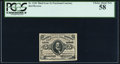 Fractional Currency:Third Issue, Fr. 1236 5¢ Third Issue PCGS Choice About New 58.. ...