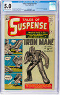 Silver Age (1956-1969):Superhero, Tales of Suspense #39 (Marvel, 1963) CGC VG/FN 5.0 Off-white towhite pages....