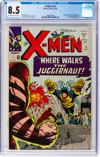 X-Men #13 (Marvel, 1965) CGC VF+ 8.5 Off-white to white pages