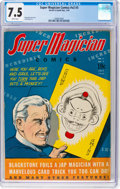 Golden Age (1938-1955):Adventure, Super Magician Comics V2#3 (Street & Smith, 1943) CGC VF- 7.5White pages....