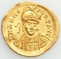 Ancients:Roman Imperial, Ancients: Zeno, Eastern Roman Empire (AD 474-491). AV solidus (21mm, 4.43 gm, 6h). AU....