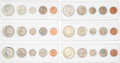 Explorers:Space Exploration, Coins: Set of Six United States Uncirculated Coin Sets, 1964 through 1969, Directly From The Armstrong Family Collection™, CAG...