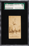 Baseball Cards:Singles (Pre-1930), 1887-90 N172 Old Judge Gill Hatfield (#217-7) SGC 84 NM 7. ...