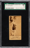 Baseball Cards:Singles (Pre-1930), 1887-90 N172 Old Judge Tim Keefe and Richardson (#251-8) SGC 60 EX 5. ...