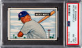 Baseball Cards:Singles (1950-1959), 1951 Bowman Mickey Mantle #253 PSA NM-MT 8....