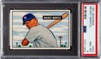 1951 Bowman Mickey Mantle #253 PSA NM-MT 8