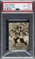 Olympic Cards:General, 1936 Kosmos Olympia Jesse Owens #84 PSA NM-MT+ 8.5 - Pop One, None Higher!...