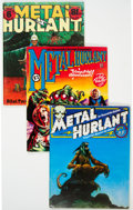 Magazines:Science-Fiction, Métal Hurlant #1-10 Group (Les Humanoides Associes, 1974-76)Condition: Average FN-.... (Total: 10 Items)