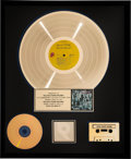 Music Memorabilia:Awards, The Rolling Stones Exile On Main St. RIAA Hologram Gold Sales Award (Rolling Stones, 1972). . ...