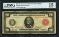 Fr. 962a $20 1914 Red Seal Federal Reserve Note PMG Choice Fine 15