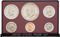 Explorers:Space Exploration, Coins: 1973-S United States Proof Set Directly From The Armstrong Family Collection™, CAG Certified. ...