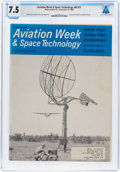 Explorers:Space Exploration, Magazines: Aviation Week & Space Technology Dated November 18, 1968, Directly From The Armstrong Family Collection...