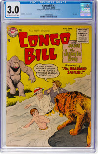 Congo Bill #7 (DC, 1955) CGC GD/VG 3.0 Off-white to white pages