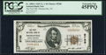 National Bank Notes:North Carolina, Thomasville, NC - $5 1929 Ty. 1 The First NB Ch. # 8788 PCGS Extremely Fine 45PPQ.. ...