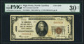 National Bank Notes:North Carolina, High Point, NC - $20 1929 Ty. 1 The Commercial NB Ch. # 4568 PMG Very Fine 30 Net.. ...