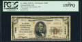 National Bank Notes:North Carolina, Durham, NC - $5 1929 Ty. 2 The Citizens NB Ch. # 7698 PCGS Fine 15PPQ.. ...
