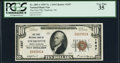 National Bank Notes:North Carolina, Charlotte, NC - $10 1929 Ty. 1 The First NB Ch. # 1547 PCGS Very Fine 35.. ...