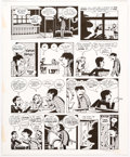 "Original Comic Art:Panel Pages, Peter Bagge Neat Stuff #9 Story Page 19 from ""Hippy House""Signed and Dated Original Art (Fantagraphics Books, 198..."