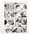 """Original Comic Art:Panel Pages, Peter Bagge Neat Stuff #9 Story Page 22 from """"Hippy House"""" Signed and Dated Original Art (Fantagraphics Books, 198..."""