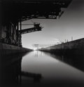Photographs:Gelatin Silver, Michael Kenna (British/American, b. 1953). The Rouge, Study 16, Dearborn, Michigan, 1993. Sepia toned gelatin silver. 7-...