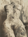 Photographs:Gelatin Silver, Alvin Booth (British, b. 1959). Untitled (Female Nude), 1995. Gelatin silver. 13 x 10 inches (33.0 x 25.4 cm). Signed, d...
