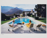 Slim Aarons (American, 1916-2006) Poolside Glamour, 1970 Dye coupler, printed later 15-1/4 x 23 i