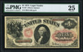 Large Size:Legal Tender Notes, Fr. 19 $1 1874 Legal Tender PMG Very Fine 25.. ...