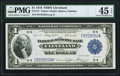 Fr. 718 $1 1918 Federal Reserve Bank Note PMG Choice Extremely Fine 45 EPQ