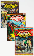Bronze Age (1970-1979):Horror, Tomb of Dracula Near Complete Series Group of 69 (Marvel, 1972-79) Condition: Average VF-.... (Total: 69 )