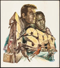 """Movie Posters:Action, I Spy (NBC, 1965). Rolled, Very Fine-. Special Television Poster(21"""" X 24"""") Gustav Rehberger Artwork. Action.. ..."""
