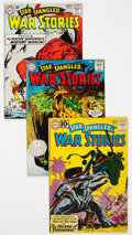 Silver Age (1956-1969):War, Star Spangled War Stories Group of 8 (DC, 1960-67) Condition: Average FN.... (Total: 8 Comic Books)