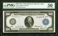 Large Size:Federal Reserve Notes, Fr. 1112 $100 1914 Federal Reserve Note PMG About Uncircul...