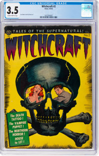 Witchcraft #2 (Avon, 1952) CGC VG- 3.5 Slightly brittle pages